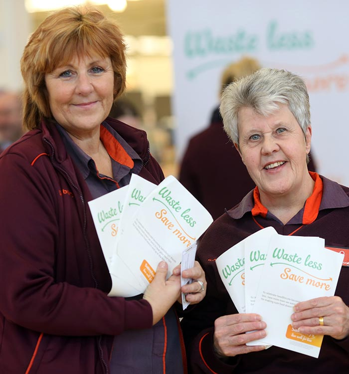 Waste less save more commitment at Sainsbury's